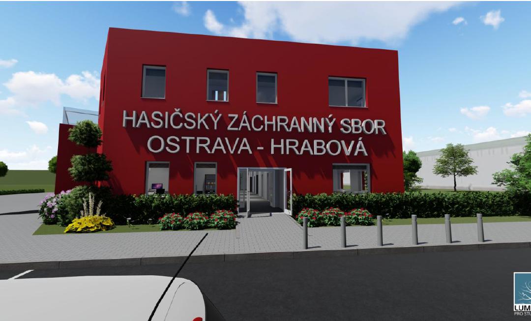 Matějův projekt hasičské stanice je nejlepší v ČR